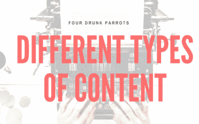 Different Types Of Content That Will Get You Noticed