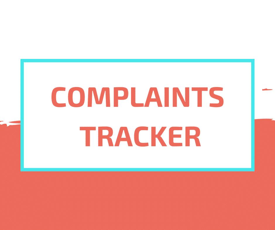 Complain Tracker Tool