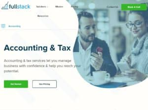 Fullstack Accounting & Tax - example of accounting websites