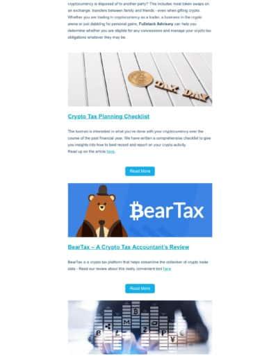 Fullstack-Crypto-Newsletter